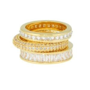 Henri Bendel Stack Ring Set